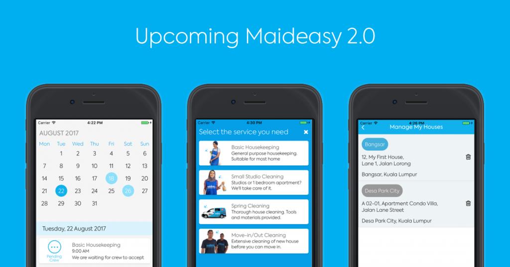 Progress Update: Maideasy app version 2 0 - Maideasy Blog